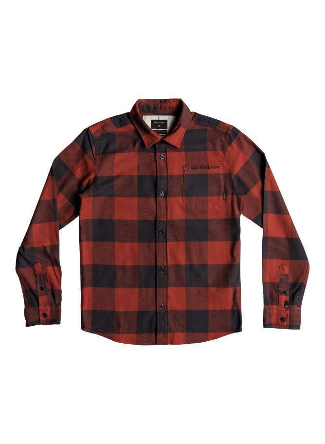 Quiksilver Camicia Motherfly Flannel Youth