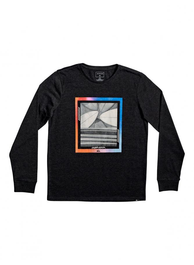 QS T-shirt Tail Fin LS Yth