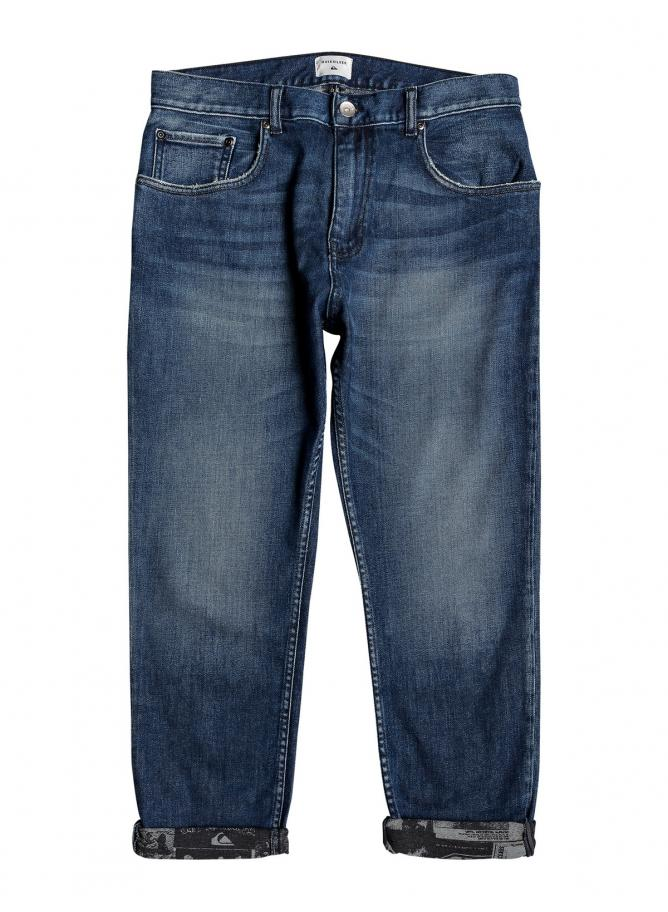 QS Jeans High Water Aged Blue