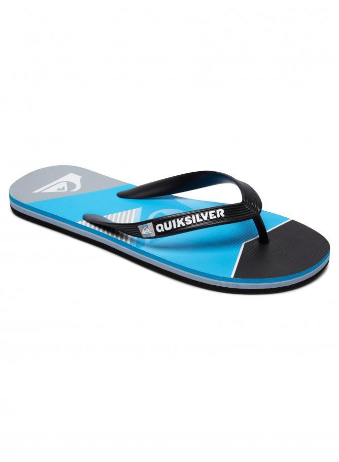 Quiksilver Boy's Sandals Molokai Slash Fade Logo Youth
