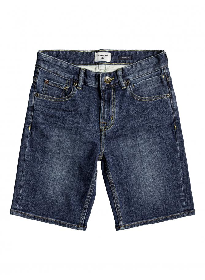 Quiksilver Boy's Shorts jeans Revolver Middle Sky Short Youth