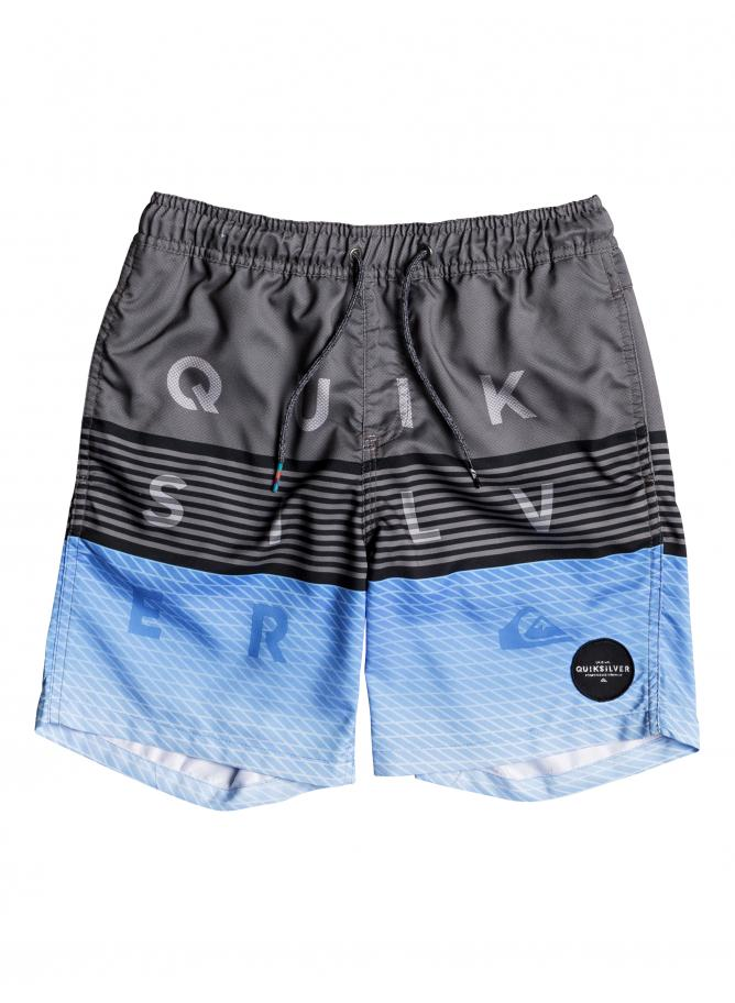 Quiksilver Boy's Volley Word Block Volley Youth 15