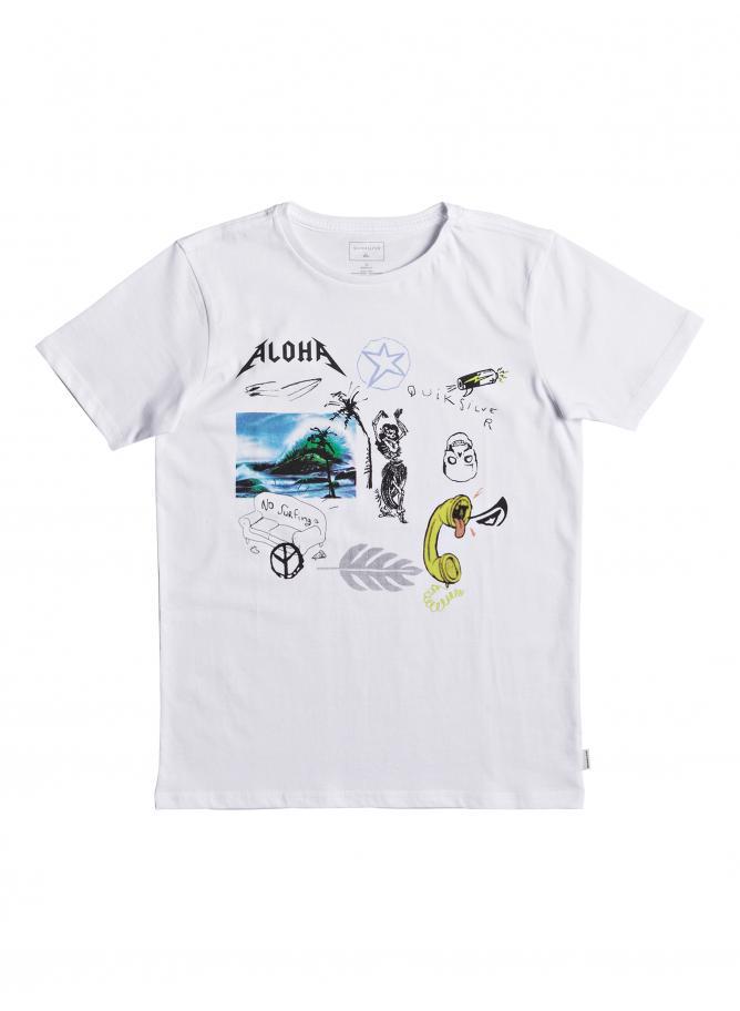Quiksilver Boy's T-shirt SS Classic Tee Puke Katuna Youth