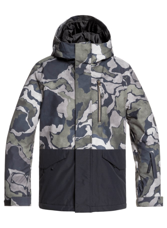 Quiksilver Mission Block Youth Jacket