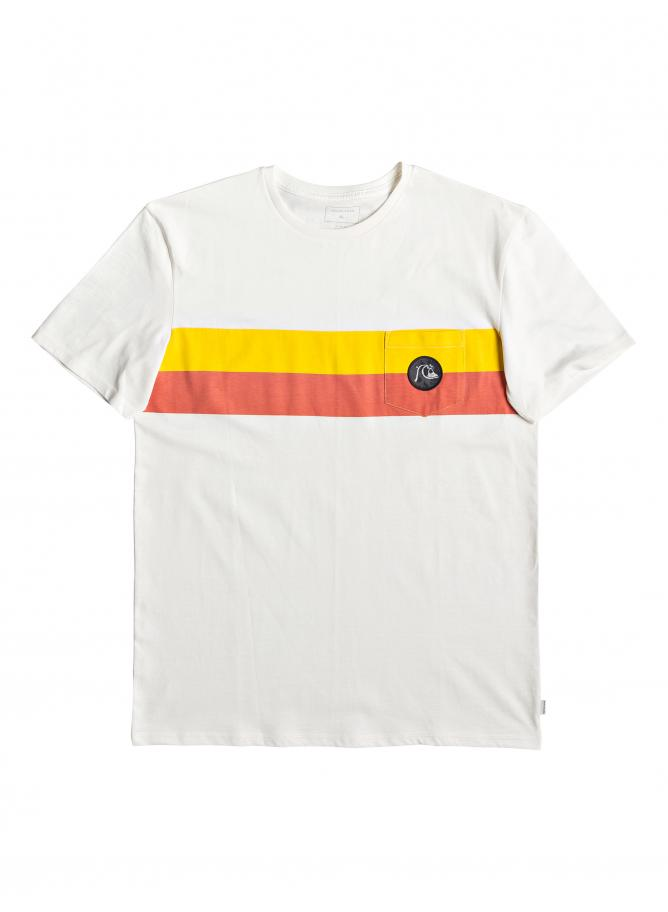 Quiksilver T-shirt Season Stripe Pocket Tee