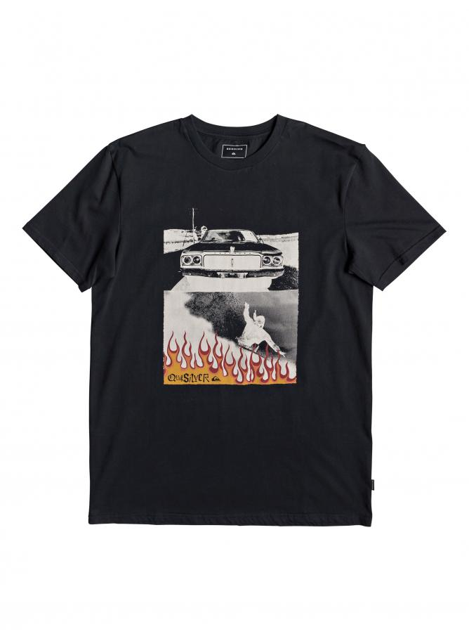 Quiksilver T-shirt Against All Odd Balls SS