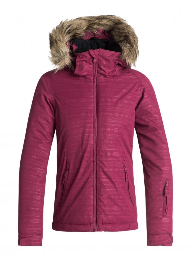Roxy Jet Ski Girl Embossed Jacket