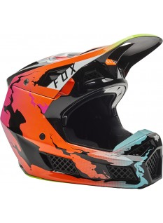 FOX V3 RS Pyre Helmet, Ece
