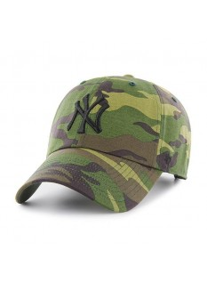 '47 Cappellino Clean Up Camo Unwashed New York Yankees