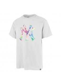 '47 T-shirt m.c. Tie Dye Print Backer Echo Tee New York Yankees