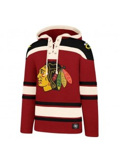'47 Felpa Lacer Hood Chicago Blackhawks