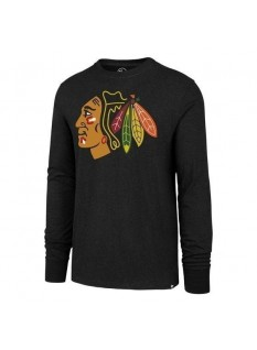 '47 T-Shirt Line Up MVP Club Long Sleeve Chicago Blackhawks