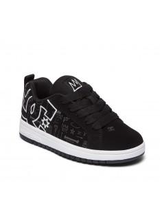 DC Boy's Shoes Basq Court Graffik
