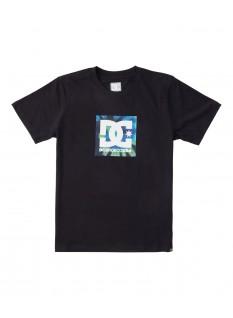 DC Boy's T-shirt Square Star Fill SS Boy