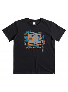 DC Boy's T-shirt Scatter SS 2