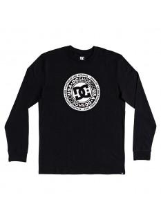 DC T-shirt Circle Star LS 2