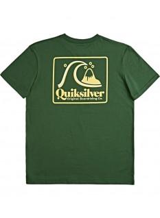 Quiksilver T-shirt Beach tones SS