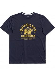 Quiksilver T-shirt Ca Tried N Tur Bear