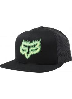 FOX Cappellino Snapback Flame Head