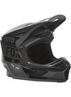 FOX V2 Nobyl Black Helmet, Ece