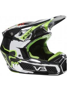 FOX V3 RS Ryke Helmet, Ece