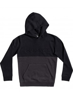 Quiksilver Boy's Felpa Emboss Block Hoodie