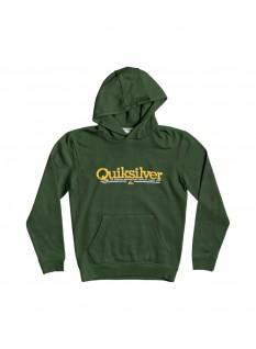Quiksilver Boy's Felpa Tropical Lines Hood