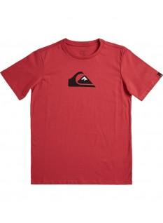 Quiksilver Boy's T-shirt Comp Logo SS