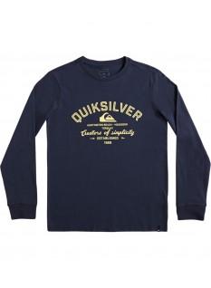Quiksilver Boy's T-shirt Creators Of Simplicity LS