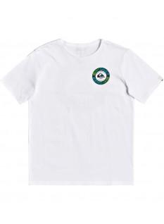 Quiksilver Boy's T-shirt Time Circle SS
