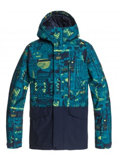 Quiksilver Giacca snow Mission Printed Block