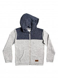 QS Fleece Keller Block Zip Youth