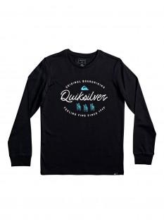 QS T-shirt Wave Slaves LS Yth