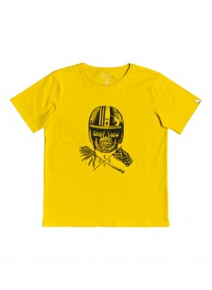 QS T-shirt Skull Open Face Yth