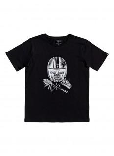 QS T-shirt Skull Open Face Yth