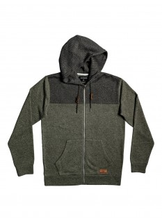 QS Fleece Keller Block Zip