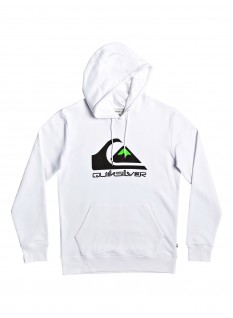 QS Felpa Omni Logo Screen Fleece