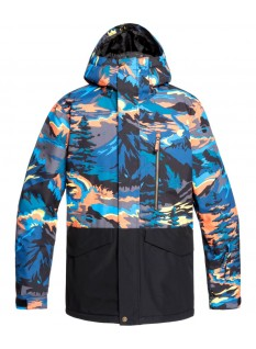 Quiksilver Mission Printed Block Jacket