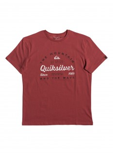 Quiksilver T-shirt Drop In Drop Out SS