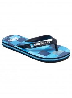 Quiksilver Boy's Sandals Molokai Resin Check Youth