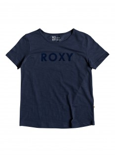 ROXY T-shirt Red Sunset SS A