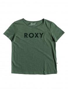 ROXY T-shirt Red Sunset SS A