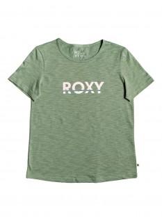 ROXY T-shirt Red Sunset Corpo