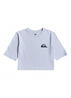 Quiksilver Wo's T-shirt Mid Sleeve Tee Crop